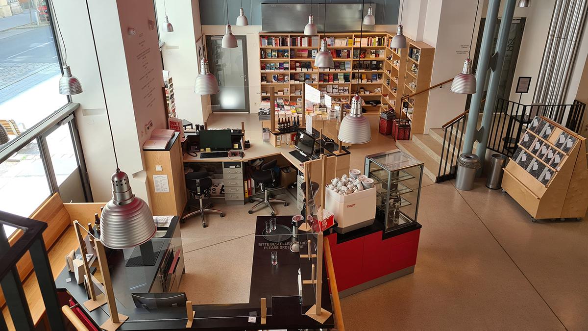 Kassaruimte en museumshop
