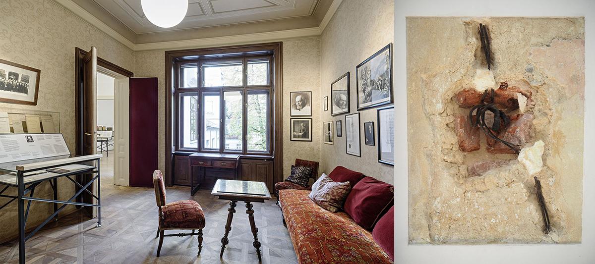 Freud Museum Wachtkamer en Telefoonkabel